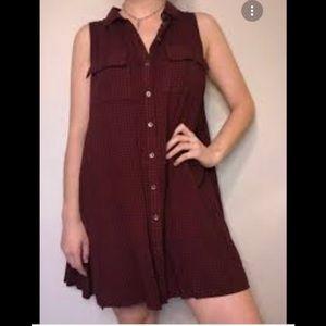 Kimchi Blue Sleeveless Button Down Dress size M